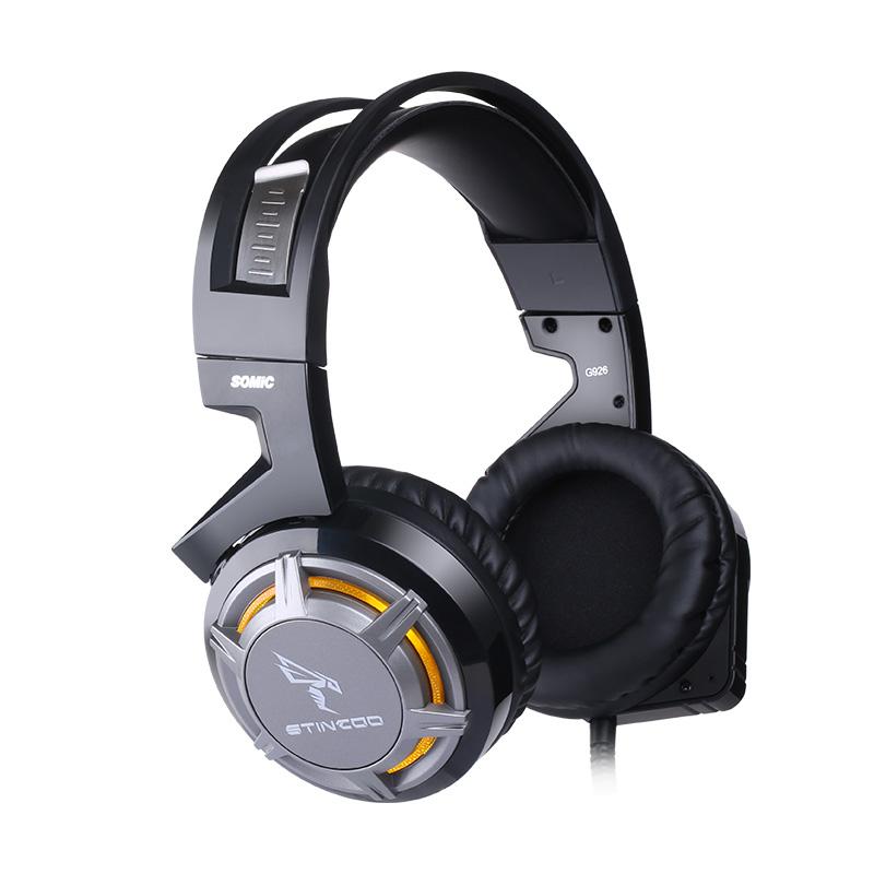 小智外设店Somic/硕美科G926 电脑游戏耳机 7.1重低音 USB YY语音