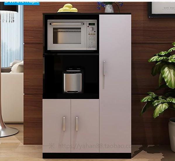 现代简约卫生间橱柜餐边柜微波炉柜电饭煲柜储物柜厨房茶水柜包邮