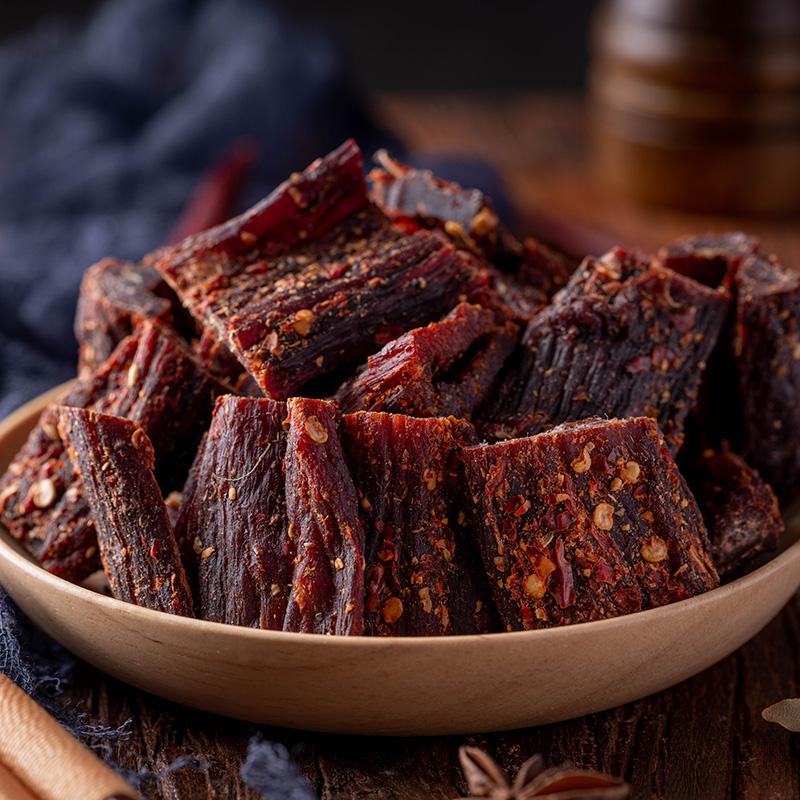 特价正宗风干牛肉干内蒙古西藏手撕牦牛肉干五香麻辣味特产小零食