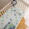 婴儿纱布床单纯棉加厚保暖宝宝床床单儿童盖毯新生儿秋冬床上用品