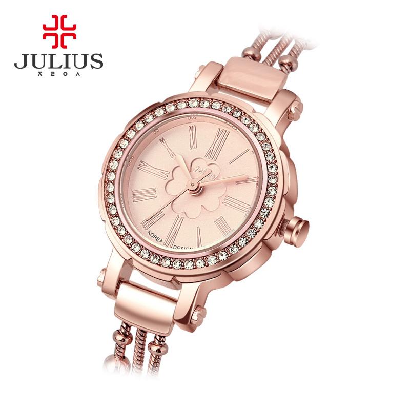 809 JA 石英机芯手表时尚防水手链女日韩腕表 2015 聚利时 Julius 包邮