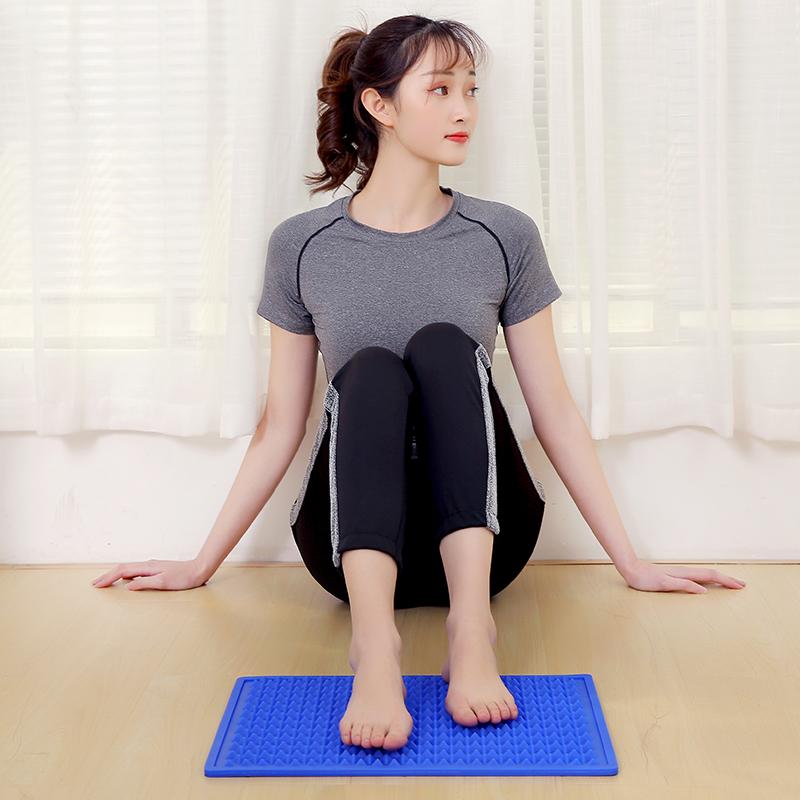 趾压板痛泰式邦硅胶指压板穴位按摩垫脚垫足疗双面家用微痛硌脚垫