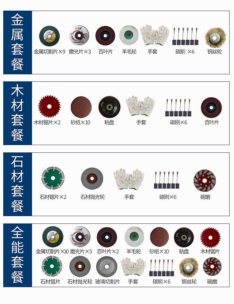 东成角磨机磨光机多功能万用手磨机东城打磨机小型切割机
