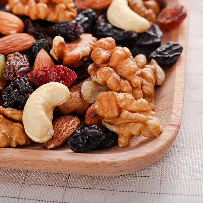 混合坚果散装干果儿童孕妇零食雪花酥综合果仁 1000g 每日坚果