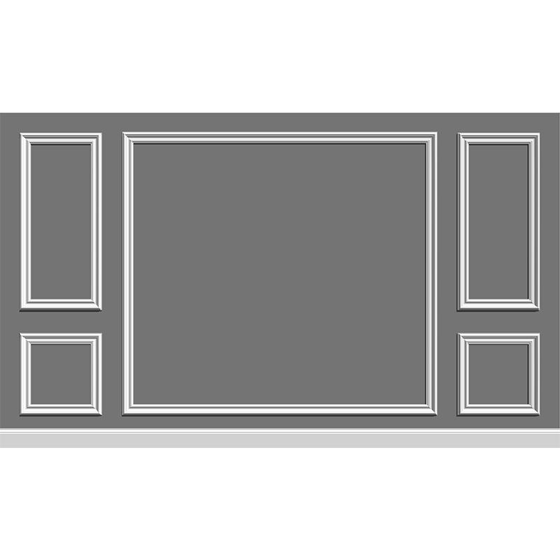 良呈电视背景墙线条框装饰线墙面相框线边框线吊顶实木线条非石膏
