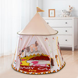 Children's tent interior room home infant baby girl princess castle Indian children's play house game