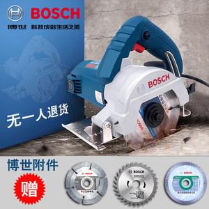 博世云石机瓷砖石材切割机斜切无齿锯多功能电锯GDC145开槽机