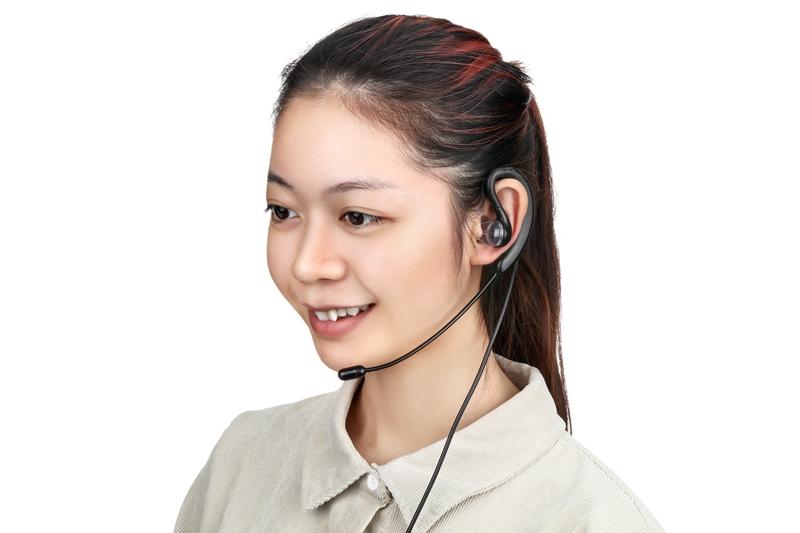 声之讯耳挂塞式XD250USB插头话务笔记本电脑呼叫中心语音耳机耳麦