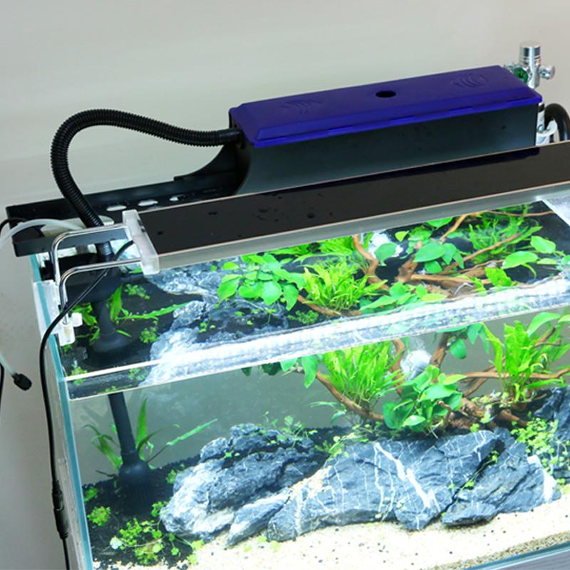 森森过滤器小鱼缸上滤水族箱三合一潜水泵静音循环增氧外置过滤器