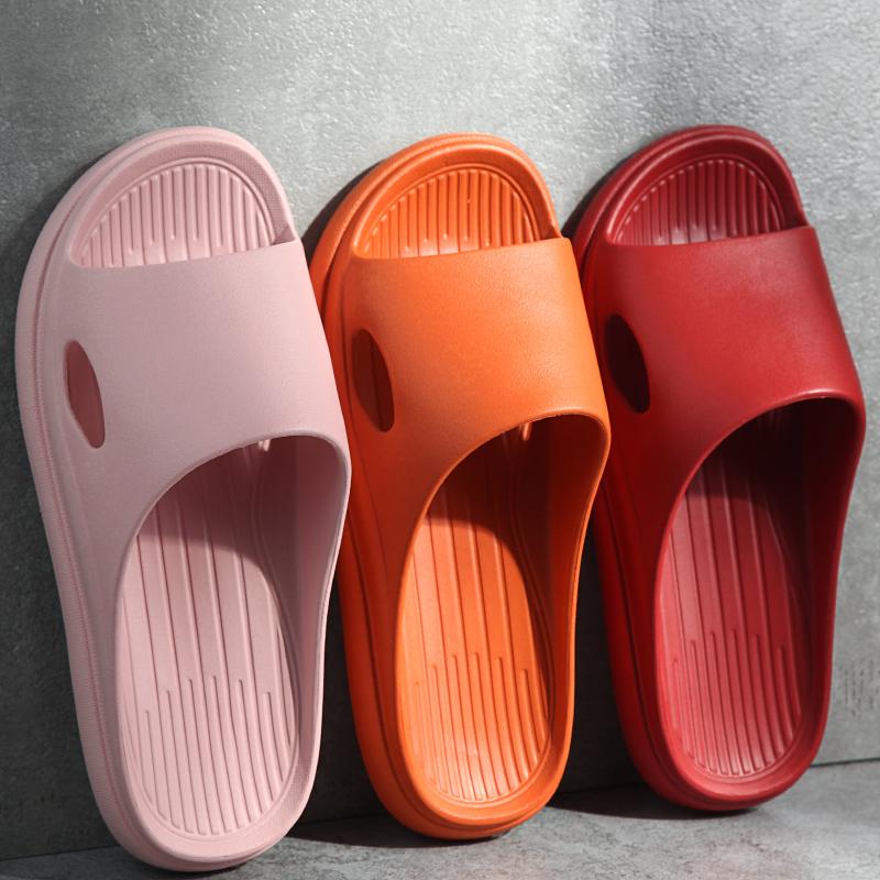 居家用拖鞋女夏季室内穿防滑静音防臭情侣浴室洗澡软底男士凉拖鞋