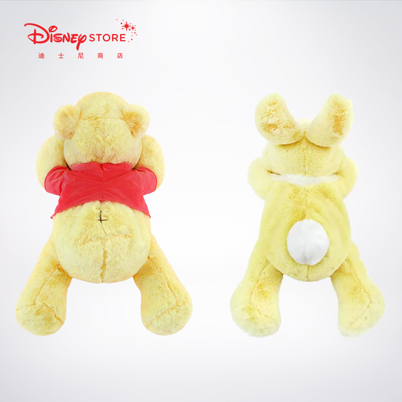 Disney 新品 卡通可爱经典维尼熊邦尼趴趴毛绒玩具 迪士尼时尚