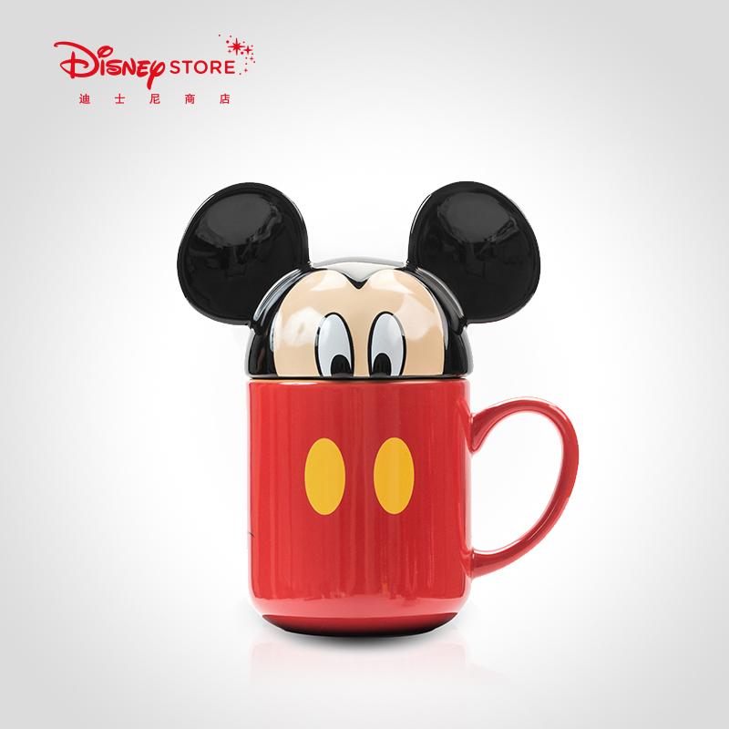 迪士尼时尚可爱卡通陶瓷水杯,送女生可爱小礼物