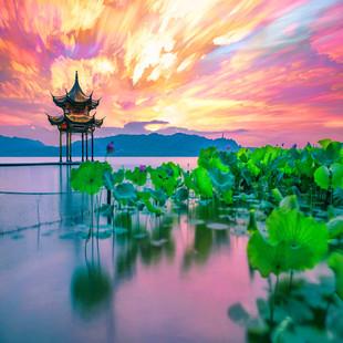 杭州西湖一日游雷峰塔灵隐寺游船西溪乌镇纯玩门票全含跟团游1日