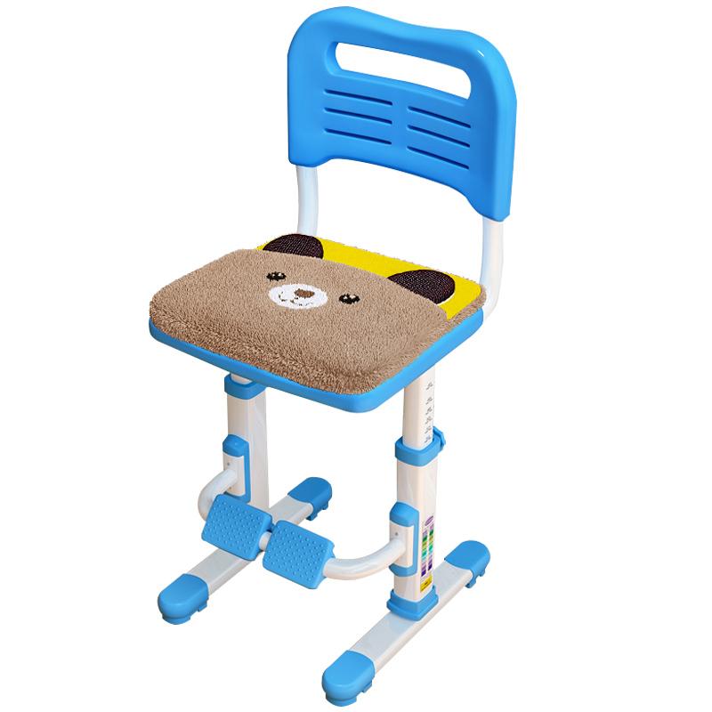 儿童学习椅学生写字凳可升降调节椅子靠背椅家用书桌坐姿矫正座椅