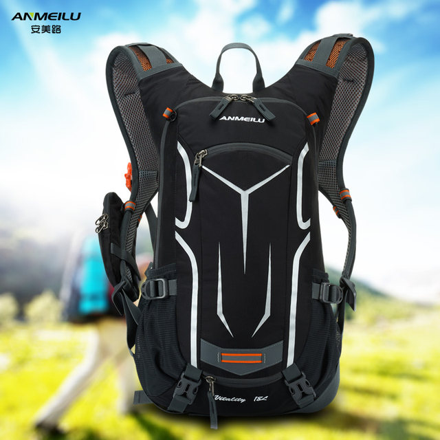 An American Road hiking trail running backpack sports bag waterproof outdoor riding backpack shoulder bag 18L