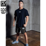 MuscleDog muscle dog shorts male summer thin section breathable casual sports and fitness training pants Shorts