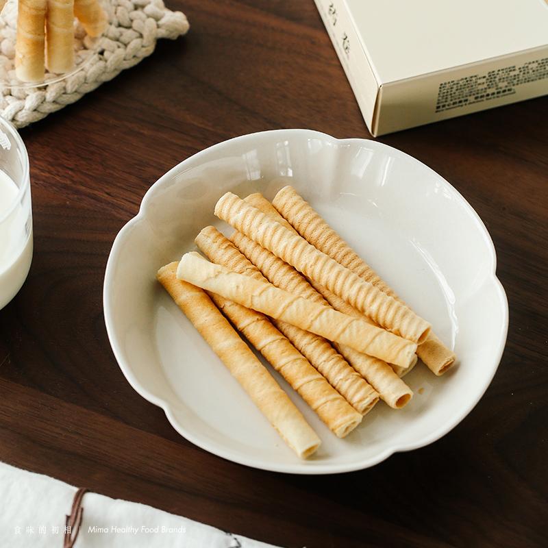 酥脆浓郁 低温烘焙 低糖低卡 无蛋奶 无香精 山要卷 初相 食味