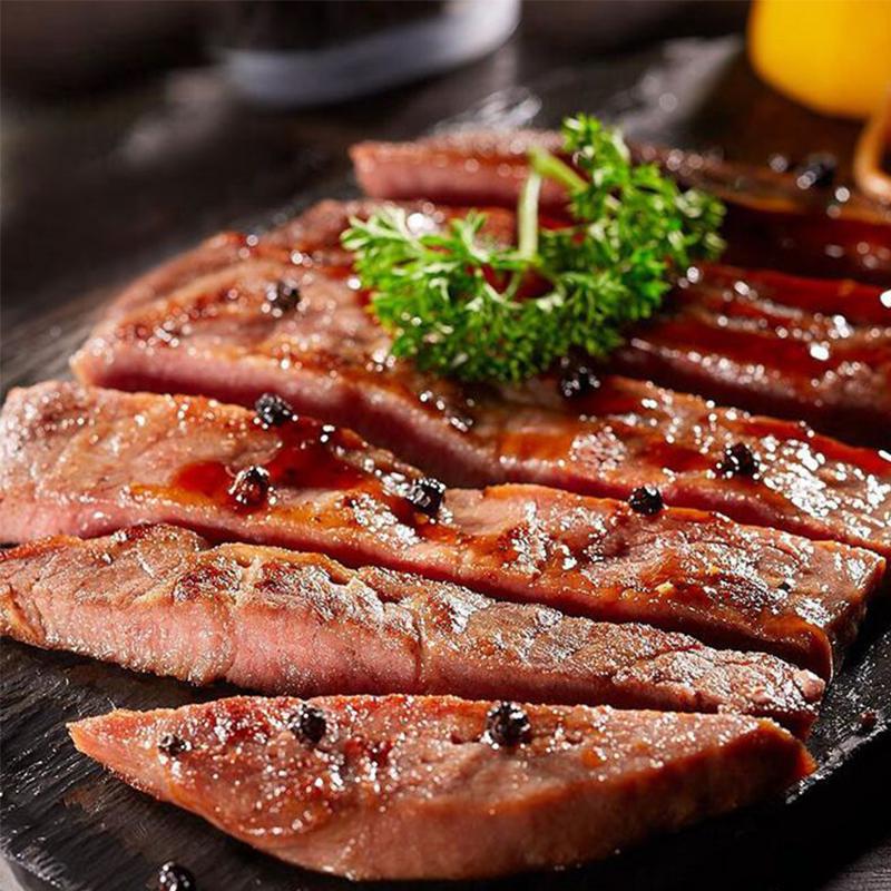 ㊣正是澳洲经典牛排整个套餐团购新鲜切家庭用雪花牛肉牛扒黑椒酱