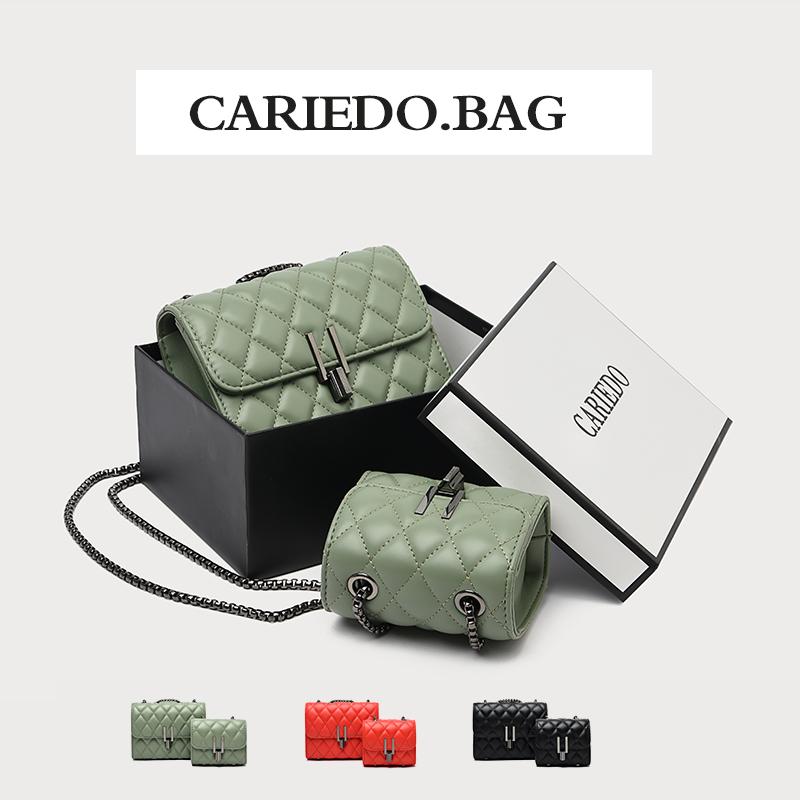 买一送一包包女包2019新款潮时尚迷你链条小包网红ins百搭斜挎包