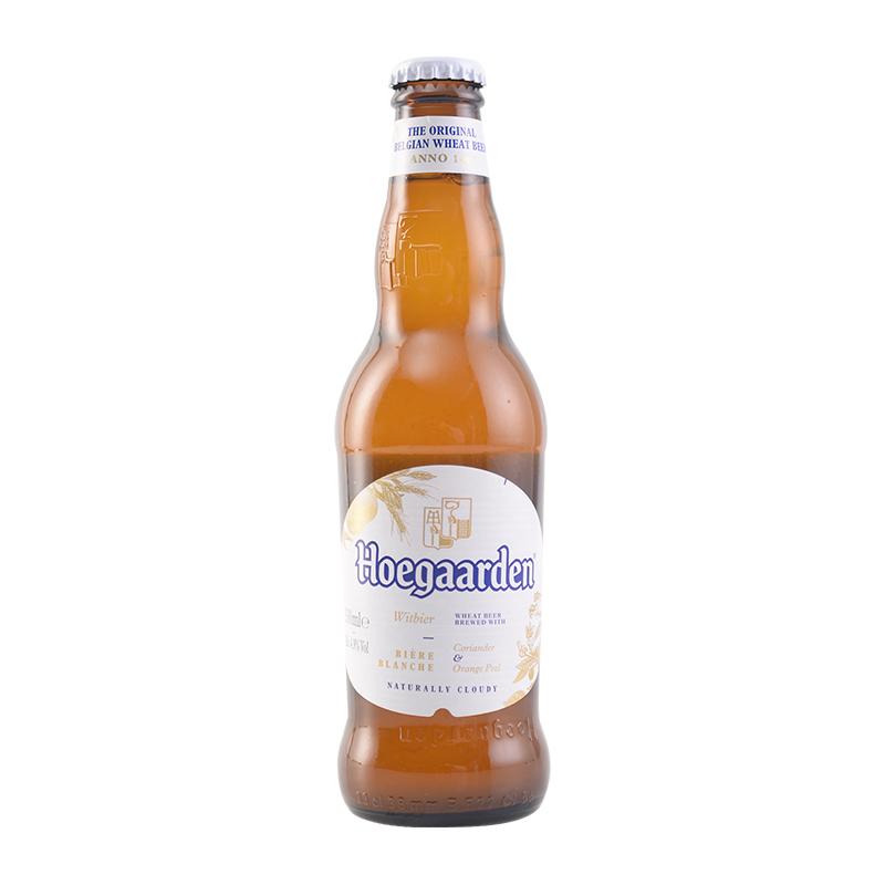 瓶 24 330ml 精酿小麦啤酒 Hoegaarde 福佳白 比利时原装进口 整箱