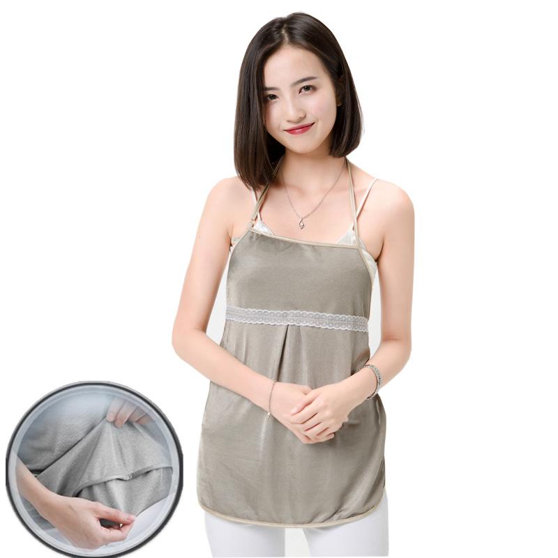 防辐射服孕妇装正品四季孕妇防辐射服肚兜内穿可洗银纤维围裙春夏