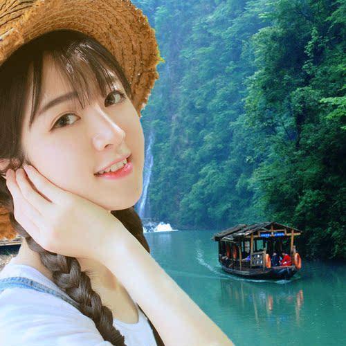 长沙张家界凤凰古城高铁6天5晚天门山森林公园玻璃桥住芙蓉镇旅游