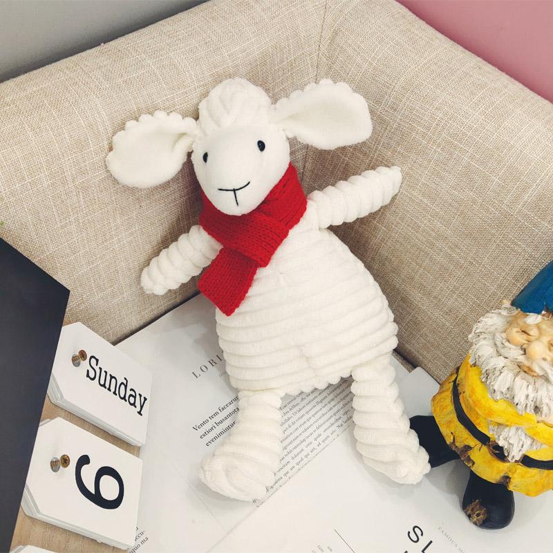 小羊玩偶布娃娃猪公仔毛绒玩具可爱睡觉抱枕超软床上生日礼物女孩
