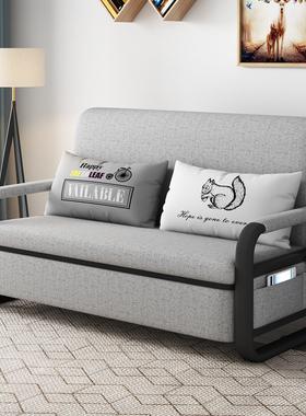 沙发床两用可折叠双人1.8多功能小户型客厅拆洗单人简易沙发1.5米