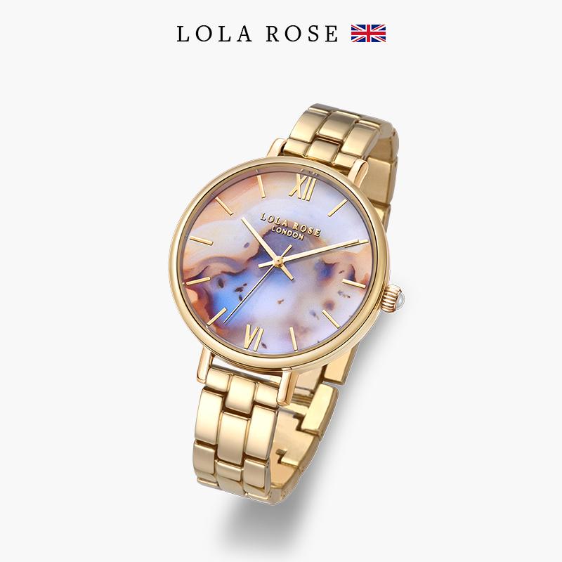 郑爽代言Lola Rose装饰手表女 潮流时尚大气 欧美防水个性女表款
