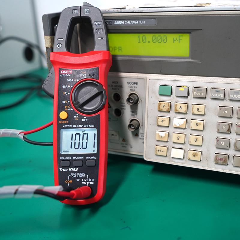 优利德高精度钳形表万用表数字电流表钳型钳流万能表交直流钳表