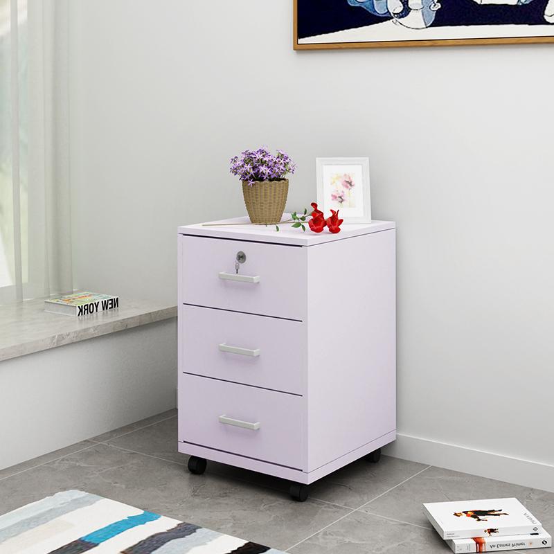 办公家具桌下文件柜资料柜板式活动柜抽屉柜小柜子三抽柜床头柜