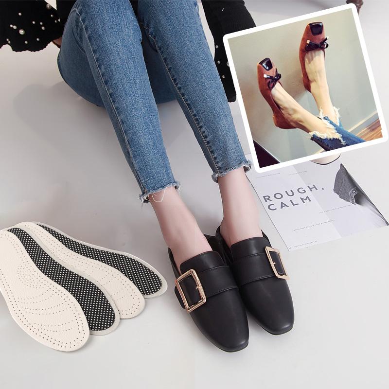 3双装 牛皮鞋垫女吸汗防臭透气学生真皮鞋垫舒适软皮鞋夏季凉鞋薄