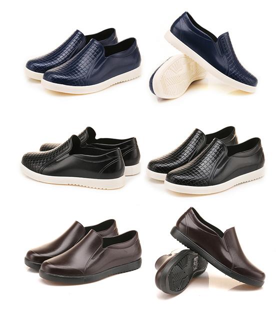 上海巨力低帮雨鞋男夏季短筒韩国时尚厨房工作防滑防水鞋女套胶鞋