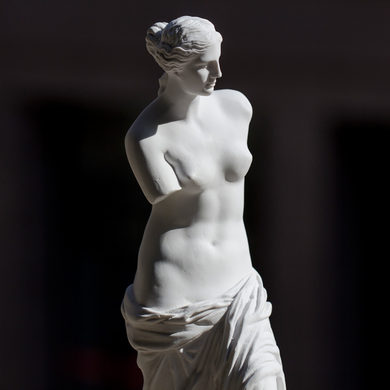 柏伦斯维纳斯人物树脂石膏像29cm人体石膏全身像绘画素描石膏像几何体雕塑模型居家装饰品画室用品美术教具