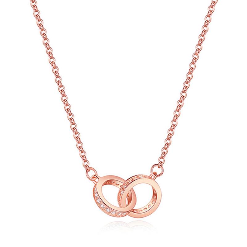 项链女官网纯银锁骨饰品小众品牌设计感  简约气质 ins 新加坡 chomel