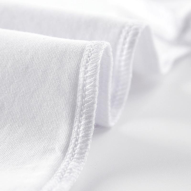 纯白色t恤女短袖体恤显瘦白色紧身内搭打底衫短款ins潮纯色上衣夏主图