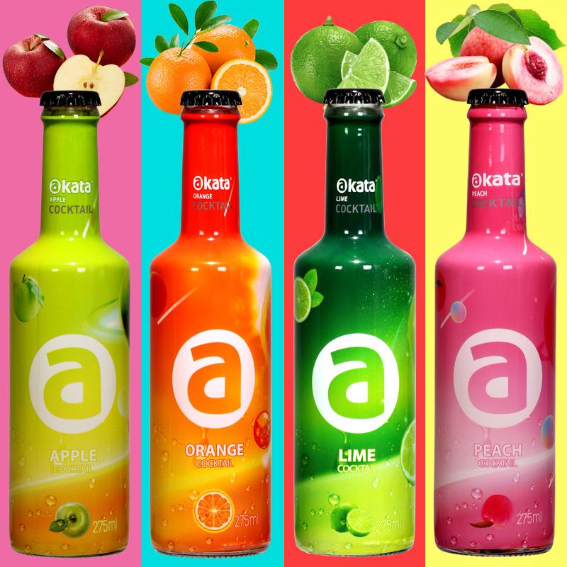 阿卡塔洋酒75ml*4瓶