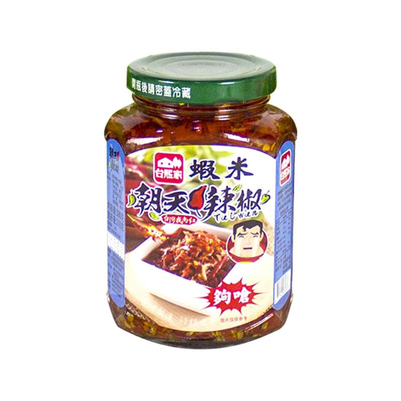 朝天米辣椒酱 味觉刺激 台熙家朝天辣椒酱 台湾进口