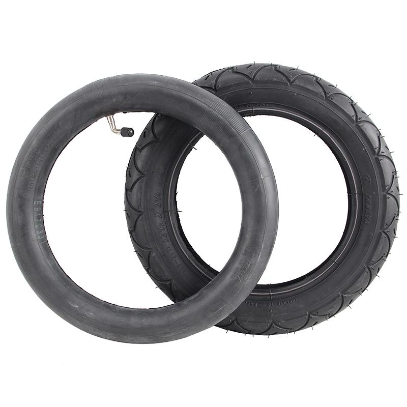 8寸10寸12寸婴儿手推车充气内带BB车轮子内外胎童车配件轮胎通用