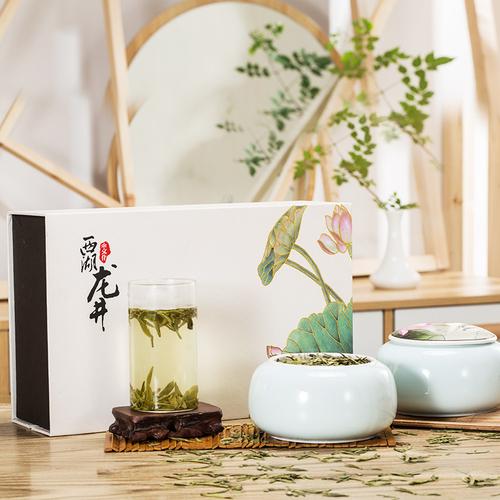 2019新茶正宗杭州西湖龙井茶雨前一级龙井绿茶茶叶礼盒装送礼250g