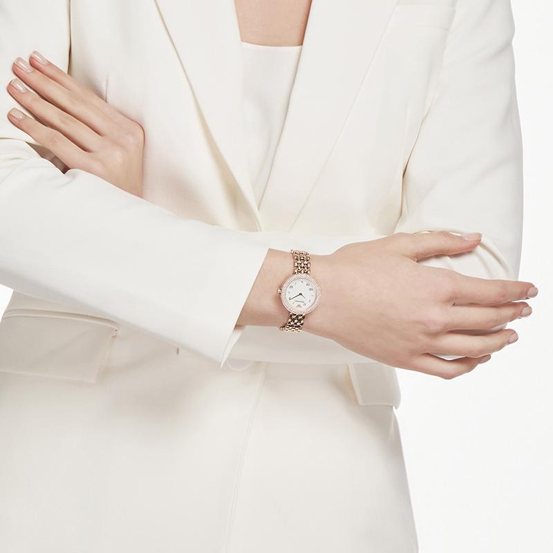 Armani阿玛尼旗舰店小表盘手表 Rosa系列小巧气质女士手表AR11355