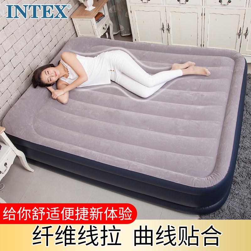 气垫床家用单双人加厚充气床垫汽垫床空气床冲气床气充床垫 intex