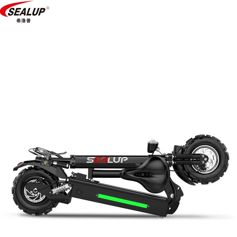 希洛普折叠电动滑板车成人代驾代步迷你电动车锂电池小型电瓶车