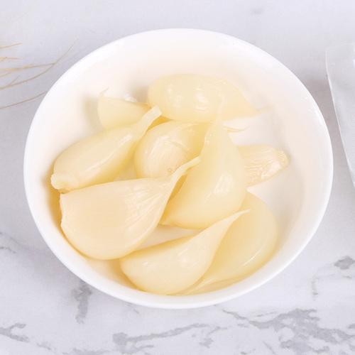 水晶糖蒜酸甜味甜蒜腌制大蒜头西安小吃泡馍搭配的糖蒜陕西特产