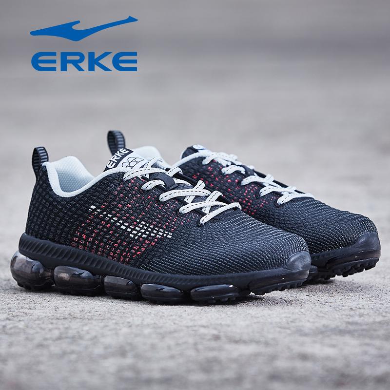 夏季新款女子时尚耐磨休闲跑步运动鞋女气垫缓震跑鞋 2018 鸿星尔克