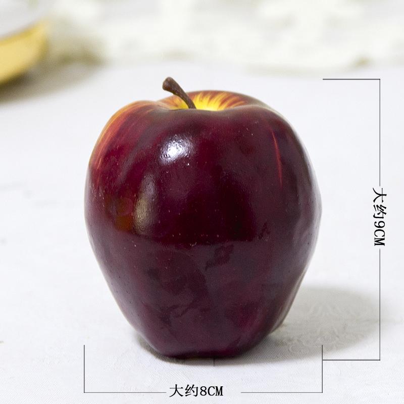 仿真水果轻款道具假苹果葡萄串香蕉蛇果芒果模型 轻款高仿真水果