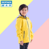 Decathlon charge tops boys and girls waterproof windproof jacket waterproof outdoor clothing tide autumn and winter children's wear TRD