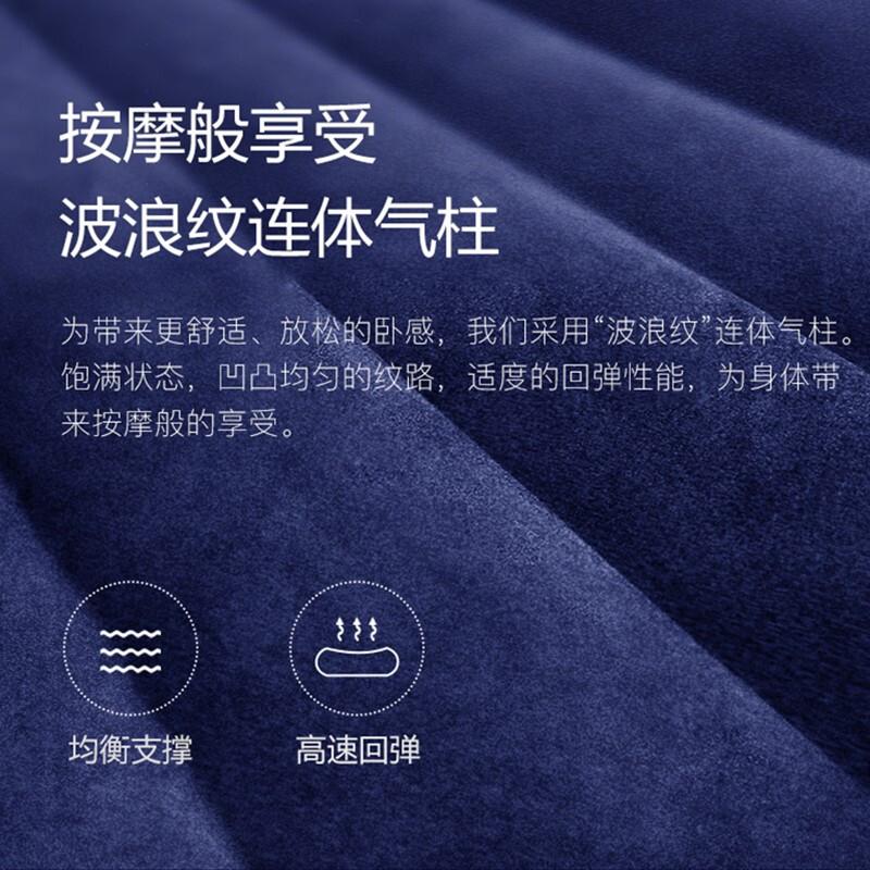 气垫床家用双人加厚单人户外便携午休床折叠充气床垫 INTEX 美国