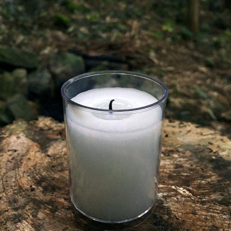 小时 16 应急求生蜡烛野外照明防风长明户外野营装备地震救灾备用