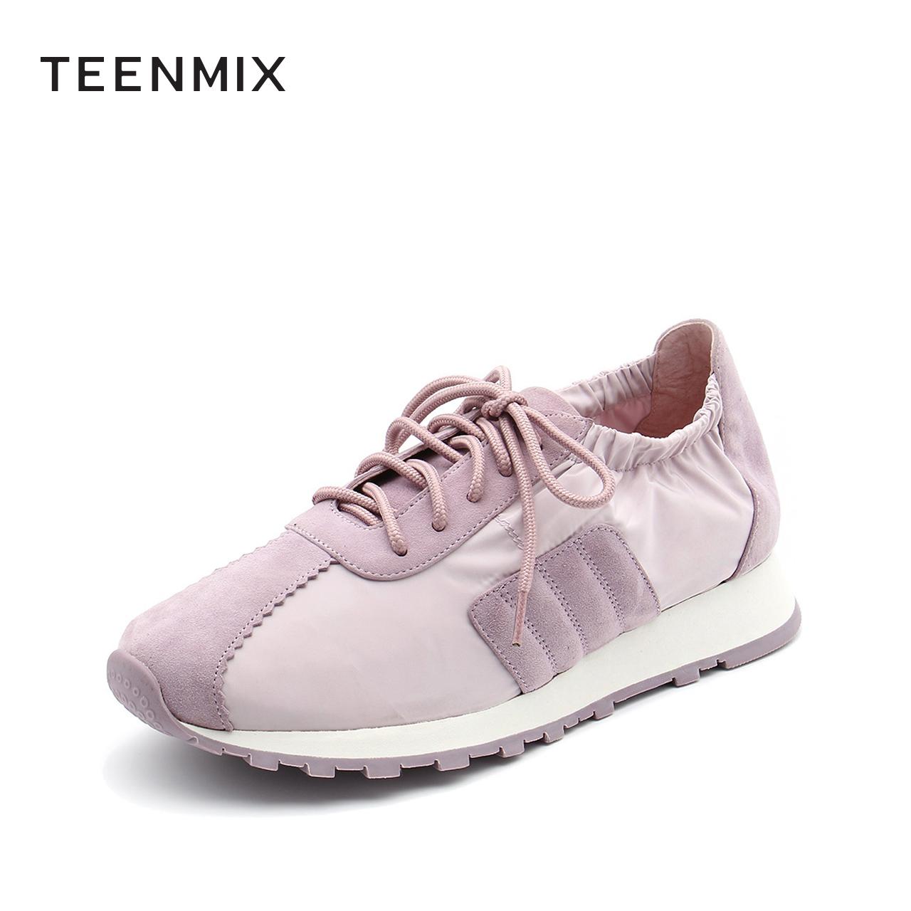 CIE25AM9 春新款 2019 天美意商场同款运动系带休闲鞋女 淘宝预售